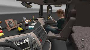 Euro Truck Simulator 2 Mega Kabin Aksesuarları Paketi V1.1