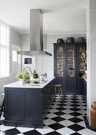 carrelage cuisine noir et blanc beau carrelage cuisine damier noir et blanc avec deco cuisine noir