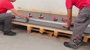 how to cut large tiles with rubi slim system cutter como