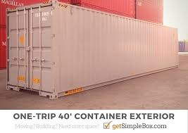 104 40 Foot Shipping Container S For Sale Or Rent Simple Box Storage