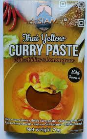 pâte de curry jaune desiam 70 g