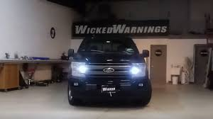 100 Lights For Trucks Flashing Strobe For Amber White Strobe Package By Wicked Warnings