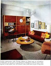 334 Best 60s Mid Century Living Rooms Images On Pinterest