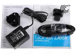 Seagate Goflex Desk Adapter Power Supply by Seagate Freeagent Desk Power Supply 1tb Hostgarcia