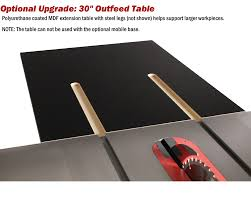 Cabinet Table Saw Mobile Base by Sawstop 3hp Professional Cabinet Saw W 36