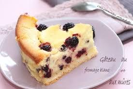 gâteau au fromage blanc et aux mûres mes gourmandises qu on se