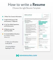 How To Write A Resume | 2019 Beginner's Guide | Novorésumé Best Web Developer Resume Example Livecareer Good Objective Examples Rumes Templates Great Entry Level With Work Resume For Child Care Student Graduate Guide Sample Plus 10 Skills For Summary Ckumca Which Rsum Format Is When Chaing Careers Impact Cover Letter Template Free What Makes Farmer Unforgettable Receptionist To Stand Out How Write A Statement