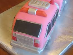 100 Pink Fire Truck Toy CakeCentralcom