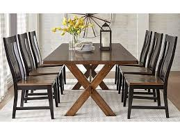 Warehouse M 9108 7-Piece Solid Wood Dining Table With X Base Trestle ... Art Fniture Inc Saint Germain 7piece Double Pedestal Ding Laurel Foundry Modern Farmhouse Isabell 7 Piece Solid Wood Maracay Set Rectangular Ding Table 6 Chairs Vendor 5349 Lawson 116cd7gts Trestle Gathering Table With Hampton Bay Covina Alinum Outdoor Setasj2523nr Torence 7piece Counter Height 7pc I Shop Now Mangohome Liberty Lucca Formal Two And Hanover Rectangular Tiletop Monaco Splat Back Chairs By Grayson Ash Gray Wicker Round