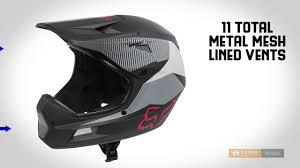 Fox Racing Rampage Comp Dresden Full Face Mountain Bike Helmet For Men