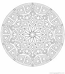 Free Desktop Coloring Mandala Pdf About Pages