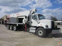 2014 Elliott 36127F Mounted On 2015 Freightliner SD108 Crane For ...