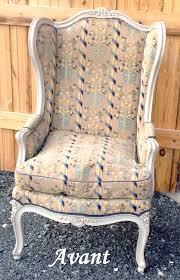 relooking fauteuil louis xv changement de tissu changement de look pour cette bergère de