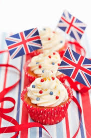 English Cupcakes License Images StockFood 11071981