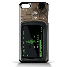 Pip Boy 4000 Fallout 4 for iPhone 5 5s Black case
