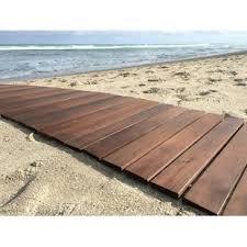 Indoor Outdoor 24 X 36 Wood Deck Tile In Oiled By Roll Floor
