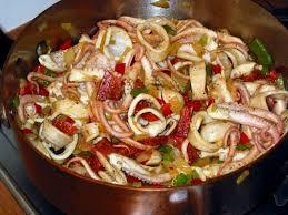 cuisiner poulpe frais poulpes au chorizo cuisine de la mer