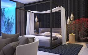 King Size Canopy Bed With Curtains by Classic Yet Comfortable 4 Poster King Bed Modern King Beds Design
