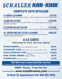 Kar Kare Detailing | Schaller Auto Group Get A Fabulous Car Wash Freddys 702 9335374 Home Innout Express North Hollywood Ca Detailing Inexterior Ldon Road Services Prices Poconos Auto Service Price Menu Yelp At Jax Kar Truck Semitruck Onsite Oryans Monticello Car Wash Prices Pinterest