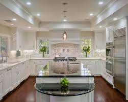 lighted tray ceiling kitchen traditional with recessed lighting