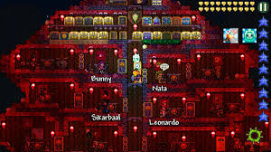 Terraria Pumpkin Moon Arena Ios by Mobile How To Make A Decent Looking Village Base Terror Style