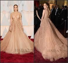 Evening Dresses Red Carpet by 2015 87th Oscar Jennifer Lopez Celebrity Evening Dresses Court
