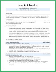 Resume Skills Nursing Student Kridainfo Nurse Sample For First Job Rapidresultsresumes New Grad