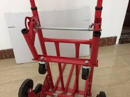 China Heavy Duty Stair Climbing Flat Bed Hand Truck Trolley Photos ...