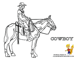 Cowboy Picture Printable At YesColoring