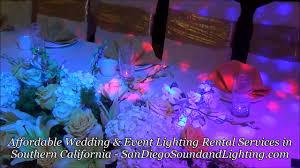 Wedding Decorations Blue Purple Up Lights String Lighting Cake Light DJ Stage