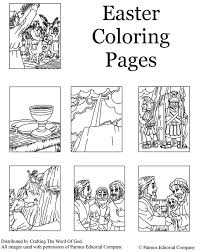 Christs Death And Resurrection Coloring Pages Are A Great Way To End