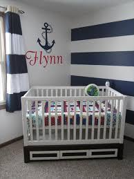 Ba Nursery Decor Decoration Newborn Kids Ba Boy Nautical Sailboat