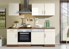 küchenleerblock 220 cm hochglanz creme
