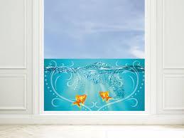 window glasdekor fenstersticker bedruckt sticker set für badezimmer fische meerestiere home furniture diy itkart org