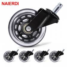 Saan Bibili Naierdi 5pcs Office Chair Caster Wheels 3 Inch Swivel ... Amazoncom Opttico Office Chair Caster Wheels Replacement Black 3 Set Of 5 By Lehawk Universal Heavy Rollerblade Casters For Herman Miller Aeron 6pcs Wheel Swivel Mute Hard Soft Pu Castor For Timber Floor Pack Duty Stem Roller 3inch 1pcs 40kg 2 Improv Carpet Floors Slipstick Foot Desk No Without White Luxura Computer With Which One Should I Choose