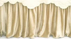 Pine Cone Hill Vogue Velvet Cream Pillow Shams From Cottage Style