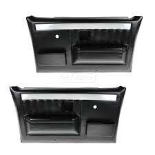 100 Chevy Truck Door Panels Molded Plastic W Manual Windows For GMC Pickup