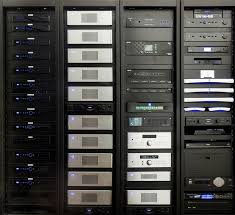 This home technology equipment rack is no joke More at