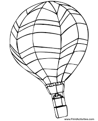 Coloring Page Hot Air Balloon Free Online Printable Pages Sheets For Kids Get The Latest Images