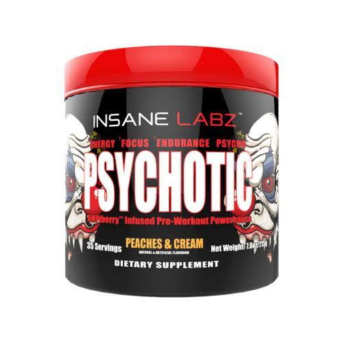 Insane Labz Psychotic, 35 Servings Gummy Candy