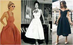 6 Looks To Bring Back The 50s Vintage Style