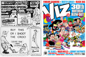Viz Artwork by Viz In Rude Health After 30 Years Professional Cartoonists