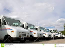 Mail Trucks Editorial Stock Photo. Image Of Letter, Transports ...