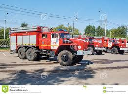 100 Fire Truck Accident URAL 5557 Fire Truck Editorial Stock Image Image Of Accident