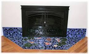 decorative ceramic tile fireplace designs made fireplace