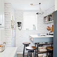 Create Atmosphere In A Small Kitchen With Shabby Chic Style
