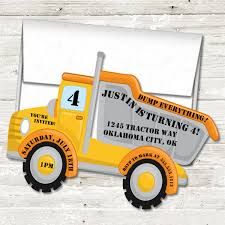 Constuction Dumptruck Birthday Party Invitations – Party Beautifully Mud Trifle And A Dump Truck Birthday Cake Design Parenting Diy Awesome Party Ideas Pinterest Truck Train Cookies Firetruck Dump Kids Cassie Craves Dirt In Cstruction With Free Printable Shirt Black Personalized Stay At Homeista Invitations Dolanpedia The Mamminas A Garbage Ideal For Anthonys Our Cone Zone