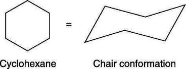 Chair Conformations In Equilibrium by How To Draw The Chair Conformation Of Cyclohexane Dummies