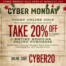 Cyber Monday Deals 2019 - Free Shipping $50+ | Cavender's
