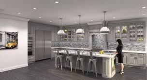 Light Sage Green Kitchen Cabinets by White Oak Wood Orange Zest Windham Door Kitchen With Gray Cabinets